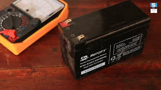 How to recover dead 12v battery