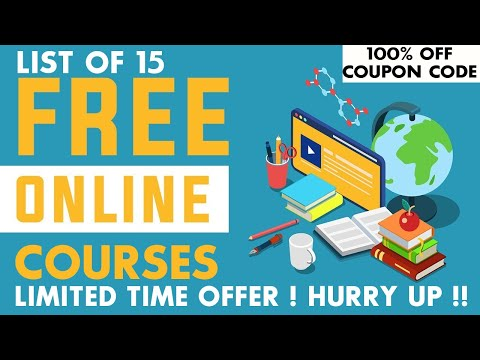 List of 15 Free Online Courses with Certificates   Limited Time Offer ...