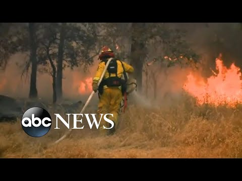 Western wildfires force thousands of evacuations