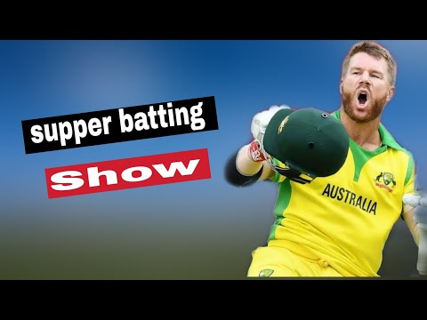 David Warner supper batting show Vs England real cricket19