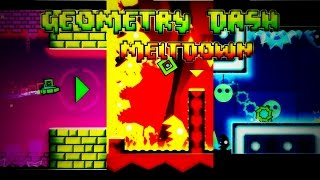Geometry Dash Meltdown | All Levels with 3 coins