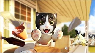 Играем в СИМУЛЯТОР КОТА 🐱🐱🐱 #11 Кот и собака мульт-игра про котят развлекательное видео
