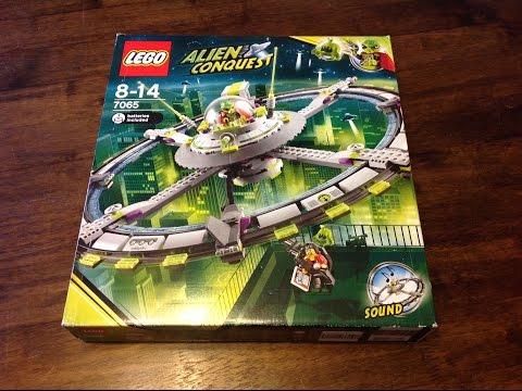 Vidéo LEGO Alien Conquest 7065 : Le vaisseau extraterrestre