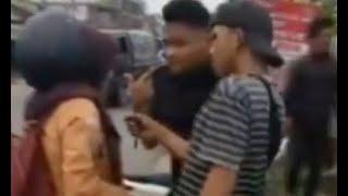 Siswi SMA di Pontianak Gagalkan Aksi Pencopetan, Korban Tabrakkan Motornya ke Pelaku