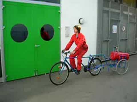 Pneumatisches Fahrrad