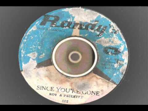 Roy Richards & Paulette – Since Youre Gone – randys records 002 soul shuffle ska