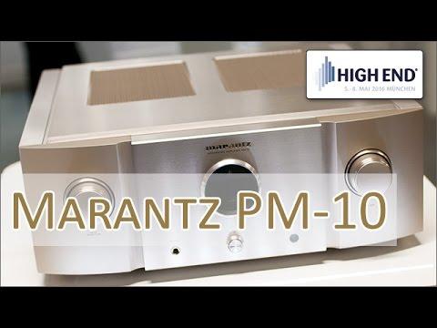 High End 2016: Marantz PM-10 Highend-Vollverstärker