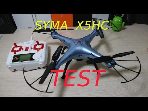 Syma X5HC Test, recenzja chińskiego drona za 230zł z Lightake.com