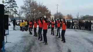 В Карагандинской области зажгли огонь XXVIIIВсемирной зимней универсиады
