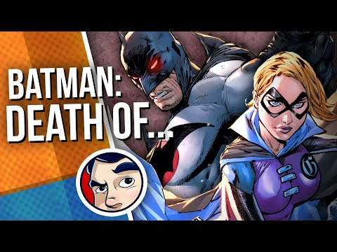 "Batman ""Death of…The Most Important Person"" 