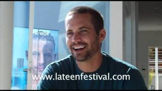 Пол Уокер, Paul Walker (The Fast and the Furious) talks about his darker side
