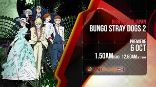 Bungo Stray Dogs 2Anime Trailer/PV Online