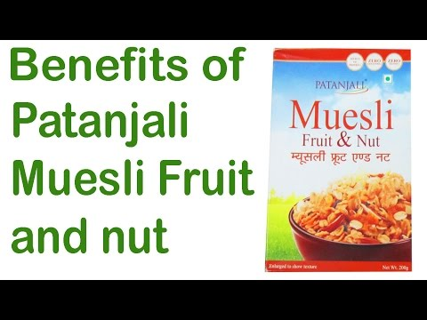 , title : 'Patanjali Muesli Fruit and Nut🍓🍇 benefits healthy breakfast🍍🍑 for kids👶'