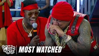 Top 9 Most Watched Talking Spit Face Offs | Wild 'N Out