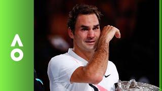 Roger Federer's emotional winning speech | Australian Open 2018 Final