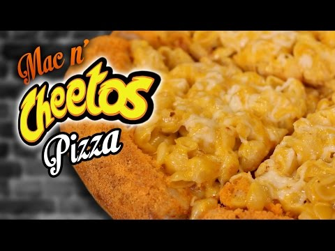 DIY Mac N' Cheetos Pizza