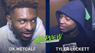 Tyler Lockett Interviews DK Metcalf During Locker Clean Out | 2019 Seattle Seahawks