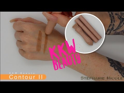 KKW Beauty Contour Kit Review & Demo