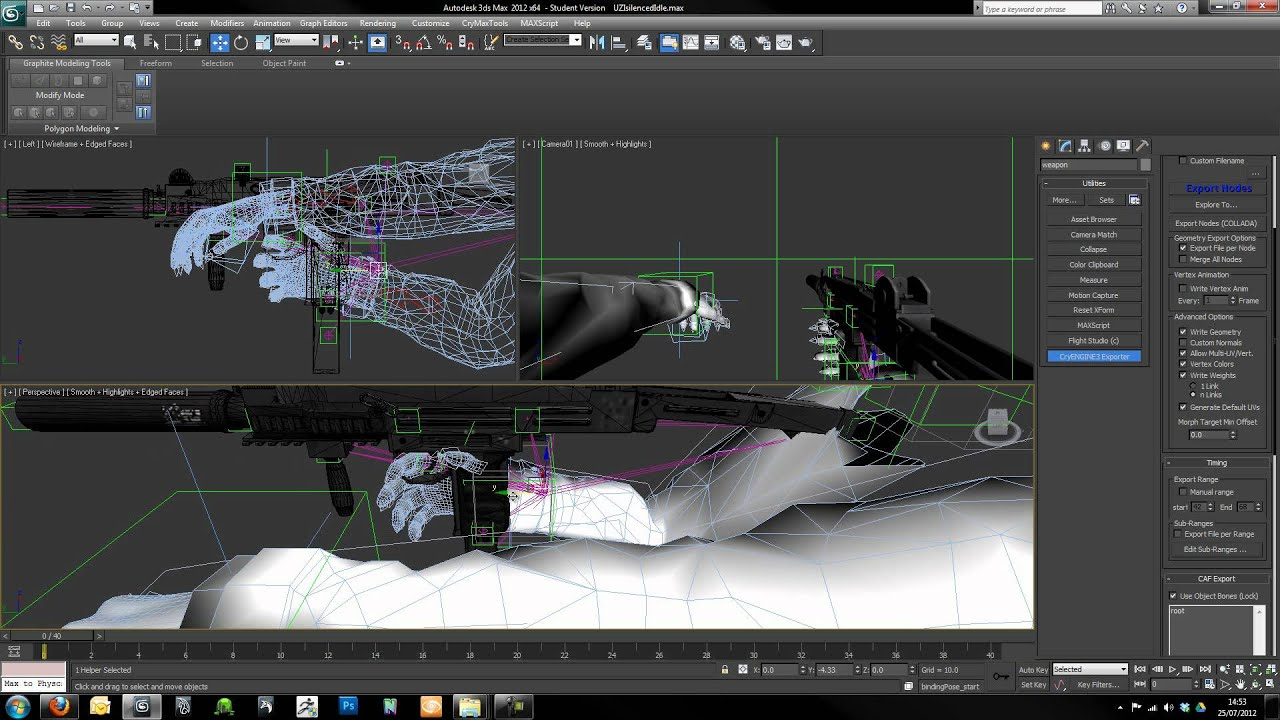 Creating First Person Weapons Tutorial: Part Four CryENGINE 3