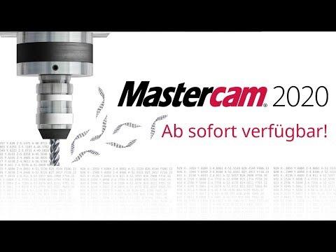 Mastercam 2020 ab sofort verfügbar!