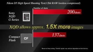 Sony 120GB G Series XQD Memory Card GARANSI RESMI