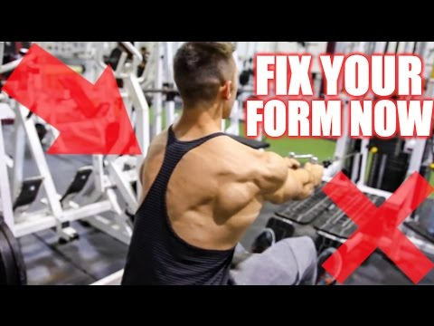 How To PROPERLY Perform the Seated Row   3 Cable Row Variations for Muscle Gain