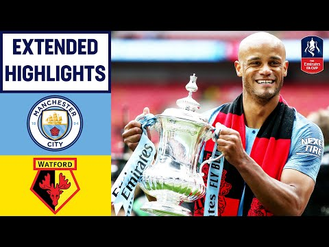 Manchester City Win the Emirates FA Cup! | Manchester City 6-0 Watford | Emirates FA Cup 18/19