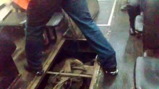 Трамвай в Павлодаре горит но едет