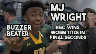 Red Bank Catholic 53 Marlboro 51 | MJ Wright Buzzer Beater in Final Second