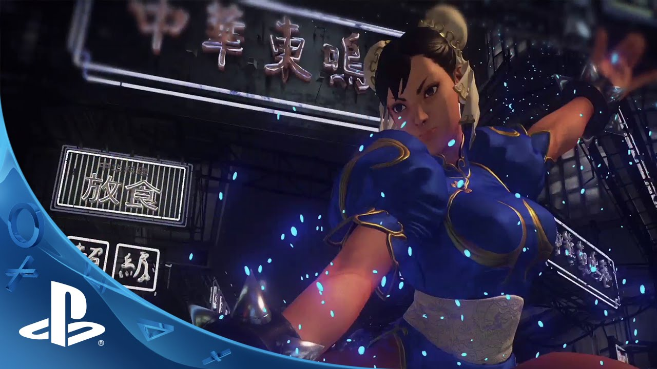 Street Fighter V: Console Exclusive to PS4, First Gameplay Video