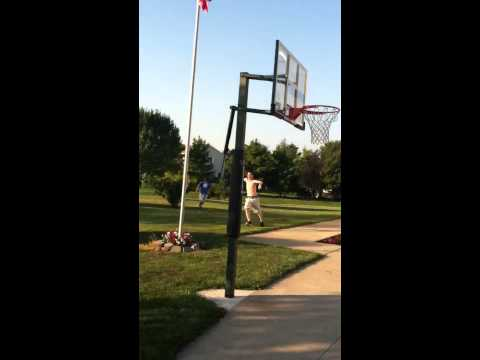Basketball shot over the house/ WCH