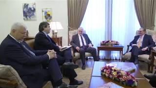Встреча Министра иностранных дел Армении с сопредседателями Минской группы ОБСЕ