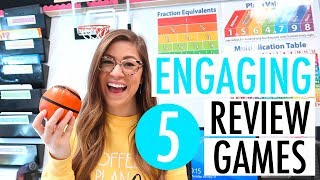 Review Games Students LOVE   Elementary, Middle, And High School