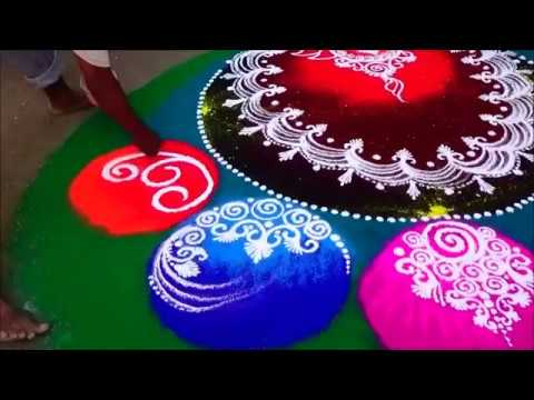 rangoli competition design margazhi kolam by kshama bade