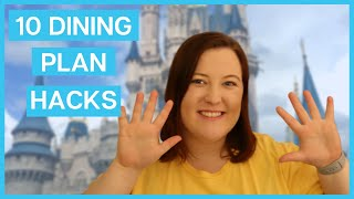 GETTING THE MOST OUT OF THE DISNEY DINING PLAN 2020 || How To Maximize The Disney Dining Plan
