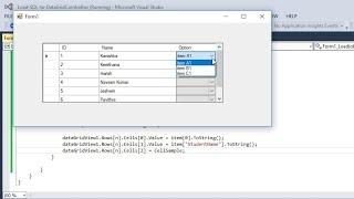C# Load SQL to DataGridViewComboBox