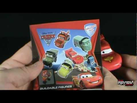 Collectible Spot - Gacha Tomy Disney Pixar Cars 2 Buildable Figures Blind Bags