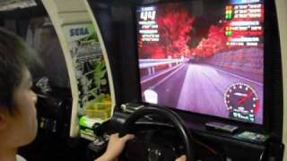 Initial D Arcade Stage 3 BNR32 Irohazaka DH Wet 02''839(Model Record)