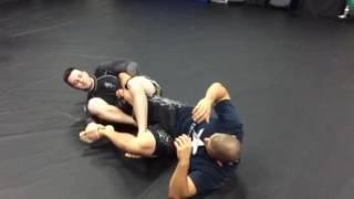 Leg lock - position 1-2-3-4