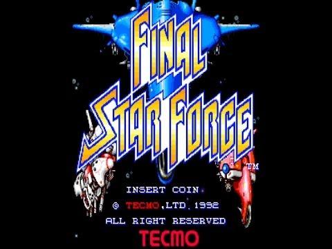 ファイナル・スターフォース / Final Star Force 1992 DEMO