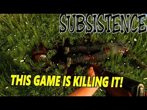 Subsistence - New Update, This Game Came To Play