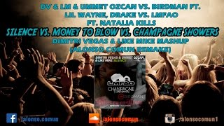 Silence vs. Money To Blow vs. Champgane Showers (Dimitri Vegas & Like Mike Mashup)