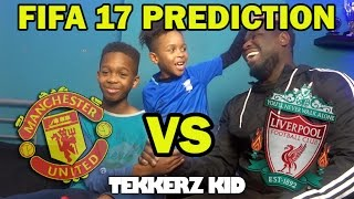 Manchester United Vs Liverpool 2017  FIFA 17 Prediction