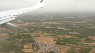 Landung / Landing Marrakesch / Marrakesh RAK 13.06.09 with Ryanair