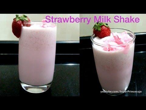 Video Yummy Strawberry Milkshake at Home Recipe | Cool Summer Drink
