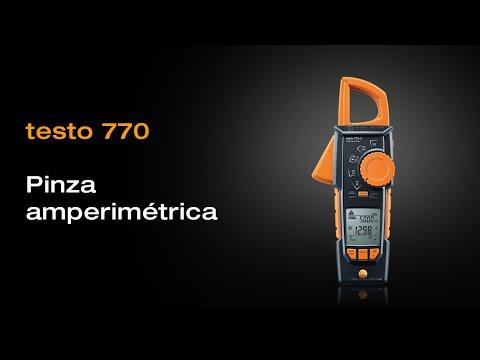 Presentación del producto testo 770