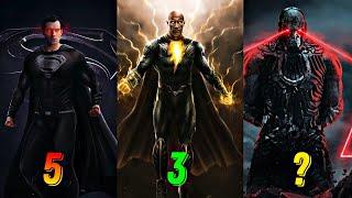DC Kinoolamining Top 10 ta kuchli personajlari | G'aroyib Ayol, Dala Bo'risi, Dumsdey.