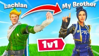 I Challenged My Brother to a 1v1 in Fortnite...