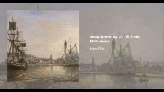 String Quartet, Op. 20