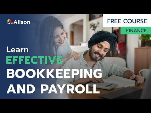 Effective Bookkeeping And Payroll- Free Online Course with ...
